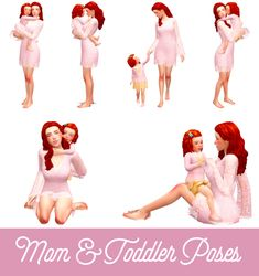 """ Mom & Toddler Poses: Another updated posepack, this time to celebrate Mother's Day :) About this pose pack: Sibling Poses, Kid Poses, Newborn Poses, Sims 4 Mods Clothes, Sims 4 Clothing, Sims 4 Couple Poses, Couple Shoot, Sims 4 Stories, Sims 4 Family"