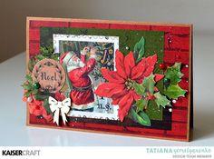 Card scrapbooking cardmaking Kaisercraft Letters to Santa