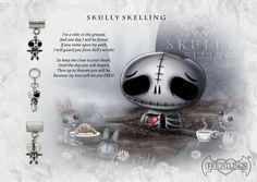 If you come upon my path I will guard you from Hell's wrath!  Skully Skelling 💀 www.myfrightlings.com