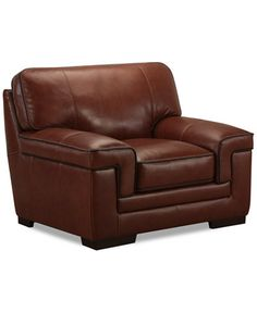 Darcy Vintage Leather Club Chair l Distressed leather Chair l
