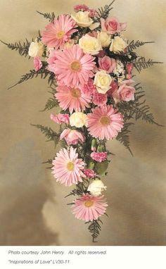 Gerbera Wedding Bouquet - Daisy Bridal Bouquets