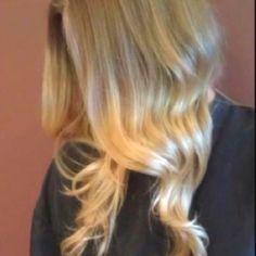 My ombré hair(: