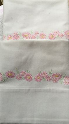 Vintage pillowcases pair standard or queen by KeepsakesbySherie