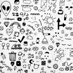 Ideas para hacer en tu mano o en un dibujo.