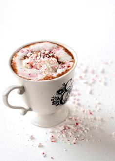 Peppermint Hot Chocolate by Erica Lea, via Flickr
