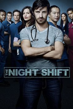Created by Jeff Judah, Gabe Sachs. With Eoin Macken, Jill Flint, Brendan Fehr, Robert Bailey Jr. A group of doctors from the Army return to work the night shift at a hospital in San Antonio. Tv Series To Watch, Watch Tv Shows, Series Movies, Netflix Series, Top Tv Shows, Great Tv Shows, Night Shift Tv Series, Night Shift Show, Eion Macken