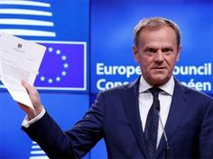 """As Tusk was at pains to note later in remarks to reporters, it was """"not a happy day"""" for most Europeans, including nearly half of Britons."""