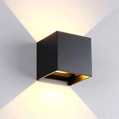 BOKT Minimalist Wall Mounted Lamp Outdoor Patio Waterproof LED Wall