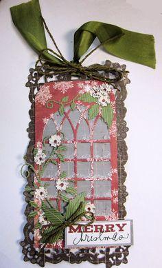 Cheery Lynn Designs Blog: Christmas Tag