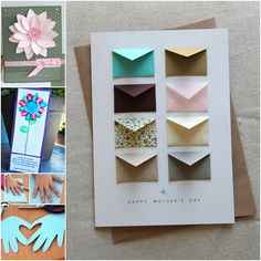 Items similar to Mother's Day Card Country Flowers - Tiny Envelopes Card on Etsy Cute Happy Birthday, Happy Birthday Cards, Blank Cards, Card Sizes, Diy Cards, Happy Mothers Day, Sewing Crafts, Card Stock, Diy And Crafts
