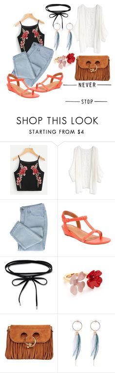 """Untitled #28"" by fun-me ❤ liked on Polyvore featuring Chicwish, Clarks, Thomas Sabo, Marni and J.W. Anderson"
