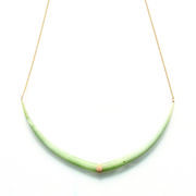 Alice Eden, Gold tusk necklace