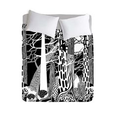 My design inspiration: Fir Forest Duvet Cover on Fab.