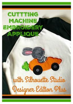 How to Cut Machine Embroidery Appliqué in Designer Edition Plus
