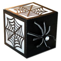 JMRush Designs: Spider and Web Cube