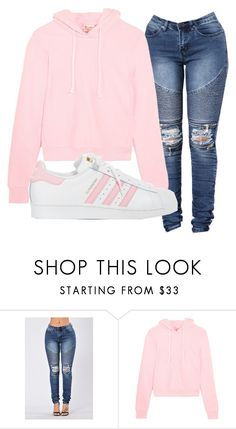 """LazyDayz2"" by alexmariejones1998 ❤ liked on Polyvore featuring Vetements and adidas"