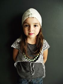 Turban hat for kids - free pattern