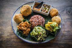 Nasi campur - Ubud Organic Vegetarian Restaurants: The Ultimate Guide