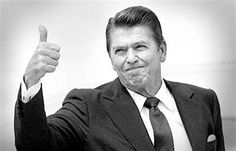 RONALD REAGAN Thumbs Up - See best of PHOTOS of the 40th US President of the United States