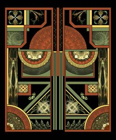 Art Deco by `Sya on deviantART