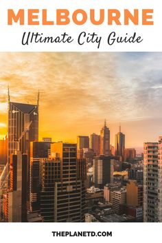 Melbourne is easily Australia's hippest city, and is known for its awesome street art and coffee culture. This guide includes the best things to do in the city, from food markets to hidden graffiti lanes. Travel in Australia. | Blog by the Planet D #Melbourne #Australia