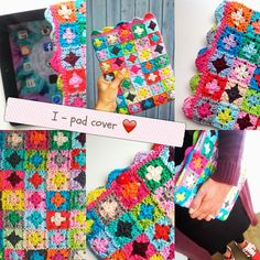 Haken en meer - crochet iPad cover