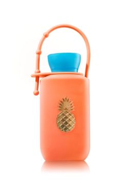 Pineapple - BODY LOTION HOLDER - Bath & Body Works - A pretty pineapple is the perfect way to take your favorite Travel Size Body Lotion wherever you go! Adjustable strap makes this an easy addition to any backpack or purse.