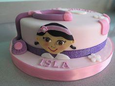 Doc macstuffin cake