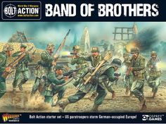 GameCraft Miniatures - Bolt Action: Bolt Action 2 Starter- Band of Brothers, $95.00 (http://gcmini.mybigcommerce.com/bolt-action-bolt-action-2-starter-band-of-brothers/)