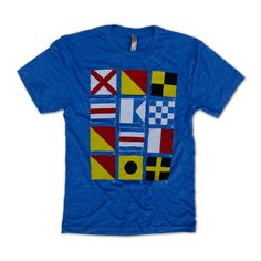 Nautical Flag T-Shir
