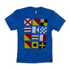 Nautical Flag T-Shir