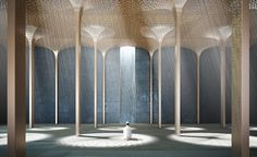 Designs for Abu Dhabi's latest grand religious space have just been revealed by AL_A. The London based architecture practice, headed by Amanda Levete with directors Ho-Yin Ng, Alice Dietsch and Maximiliano Arrocet, has just won the competition for the ...