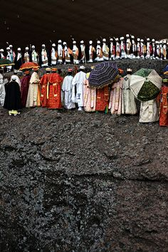 christmas in lalibela, ethiopia via line x shape x colour