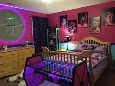 Girl's Star Wars Room 1