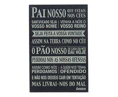 Box Decorativo Pai Nosso - 40x60cm