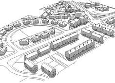 Star Centre redevelopment massing model