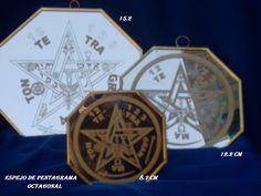 otro estilo de espejo de pentagrama
