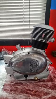 Gilera Giubileo 98 motore revisionato - Motor bike service