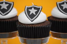 Cupcakes do Botafogo | Flickr - Photo Sharing!.#jorgenca