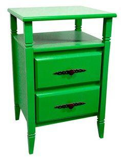 Criado-Mudo Diamante Verde wwww.ocasaraomoveis.com.br
