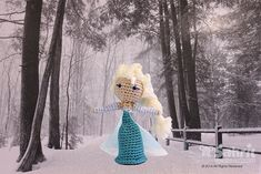 Snow Queen Doll Amigurumi Pattern