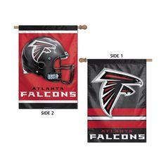 Atlanta Falcons NFL Premium 2-Sided Vertical Flag (28x40)