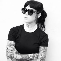 "||| VAŁŁEY PRĮSM CŌŁŁECTIŌN ||| Valley family Kat Von D in the "" XVI "" gloss black premium hand crafted acetate frame with black Italian optics by Carl Zeiss 