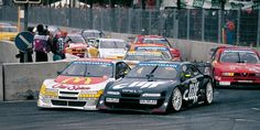 DTM History | 1996 season | DTM.com // In 1996, the DTM was completely replaced by the ITC. Six events took place in Germany, and the remaining races were staged across Europe and even overseas.