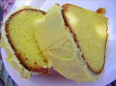 Extreme Lemon Bundt cake - TASTY! I put a glaze over mine instead of icing. Just mix some lemon juice, orange juice & confectioners sugar, poke holes in the cake & pour over it when you take it out of the oven. Makes it moist!