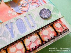 yaya scrap & more: SIMON SAYS MONDAY CHALLENGE: THANK YOU CARD!