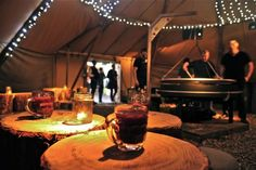 A Rooftop Tipi, London