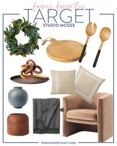 Time to spruce up the house in preparation for some awesome outdoor living and relaxing! Target has so many new and cool options for 2021! Outdoor Spaces, Outdoor Living, Blogger Home, Fancy Kitchens, Chair Pillow, Studio Mcgee, Love Home, House Tours, Bookshelves