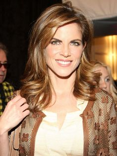 Dark Blonde - Natalie Morales....THINK this is my new color and lil shorter bangs!