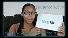 Daily Goodie Box Unboxing  | Septemer 2017